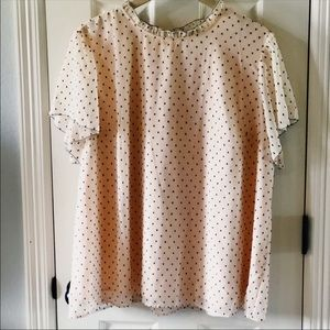 Loft Blush Blouse